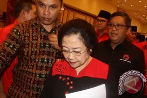 Megawati Hadiri Rapat Konsolidasi PDIP