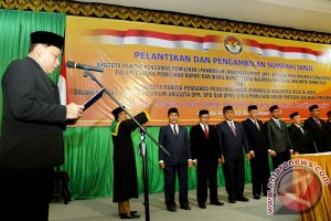 Pelantikan Panwaslih Aceh