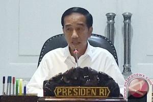 Presiden Jokowi: patuhi instruksi petugas darurat Gunung Agung