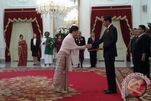 Presiden terima surat kepercayaan dubes sembilan negara