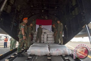 Empat Hercules singgah di Banda Aceh