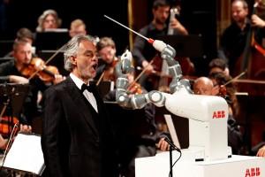 Robot YuMi pimpin orkestra di Italia