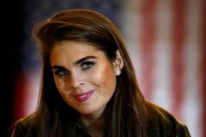 Mantan model Hope Hicks jadi Direktur Komunikasi Gedung Putih