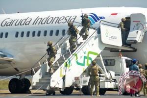 Latihan Anti Teror Di Bandara
