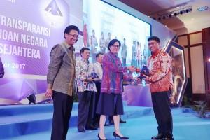 Kementerian Perindustrian raih penghargaan atas WTP lima tahun berturut