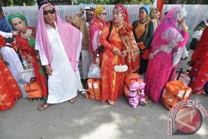 Kepulangan Jamaah Haji Sulteng