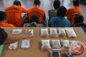 Petani kurir narkoba ditangkap