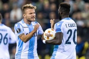 Saling mengejar skor, Lazio tundukkan Vitesse 3-2
