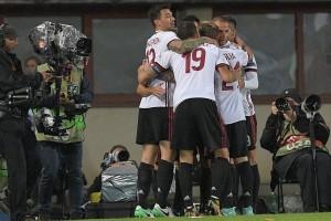 AC Milan pecundangi Austria Vienna 5-1, Andre Silva hattrick