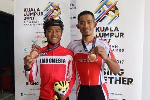 ASEAN Para Games - Tim paracycling Indonesia raih dua medali perunggu
