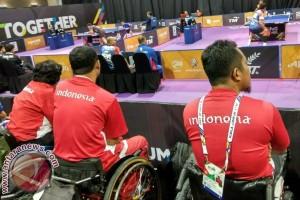 ASEAN Para Games  - Indonesia sapu bersih laga beregu tenis meja hari pertama