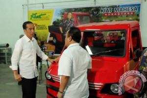 Presiden tantang mobil produksi dalam negeri agar kompetitif