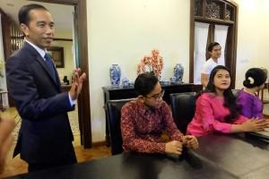Jokowi tunjuk Gibran sebagai juru bicara keluarga