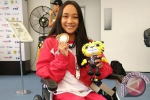 ASEAN Para Games - Sempat takut pindah kelas, Laura lega raih emas