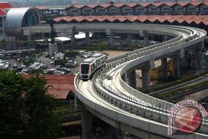 Rini: Skytrain-kereta bandara terintegrasi sebelum akhir 2017