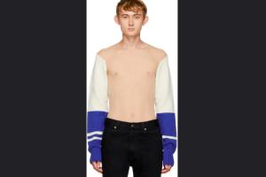 Calvin Klein jual sweater tembus pandang