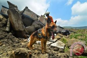 Pencarian Korban Longsor Gunung Galunggung