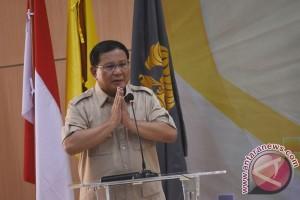 Prabowo Subianto daftarkan Gerindra ke KPU