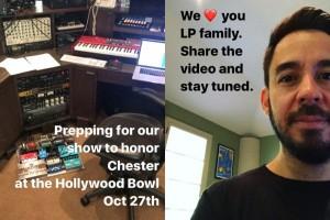 Mike Shinoda umumkan acara untuk Chester Bennigton