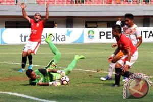 Gol tunggal Pachecho menangkan Persija atas Perseru