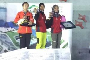 Indonesia raih emas pertama Kejuaraan Asia 2017 di Tehran