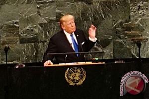 Trump beri Korut peringatan keras di PBB