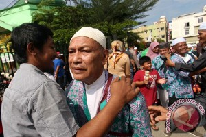 Kepulangan Jamaah Haji Medan