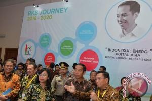 Presiden buka IBD Expo 2017 bahas perkembangan digital