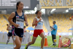 Perak Lari 100 Meter Putri