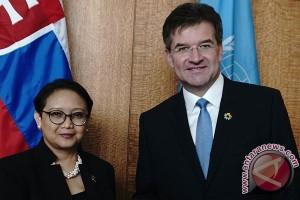 Menlu Bertemu Presiden Sidang Umum PBB