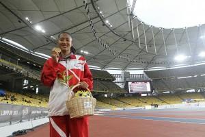 ASEAN Para Games - Putri Aulia si ratu lintasan sprint T13