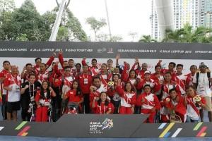 ASEAN Para Games - Tim renang Indonesia juara umum, lampaui target emas