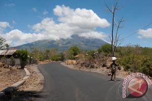 Aktivitas gempa Gunung Agung semakin meningkat