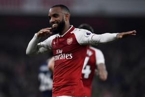 Lacazette borong dua gol saat Arsenal lumpuhkan West Brom