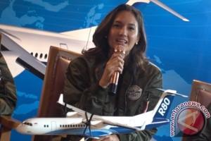 Nadine Chandrawinata ingin naik pesawat buatan anak bangsa (video)