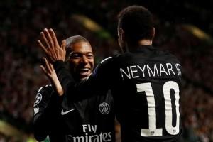Neymar akan ajari Mbappe seperti dia diajari Messi