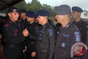 Pelepasan Pasukan BKO Brimob Papua