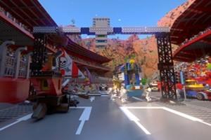 Petualangan seru Lego Virtual Reality roller coaster di Legoland Malaysia Resort
