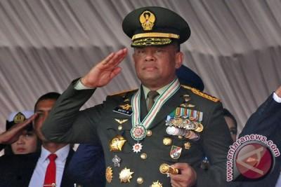 """Presiden minta saya tidak ke AS,"" kata Panglima TNI Jenderal Gatot"