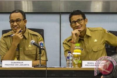 Hari Pertama Gubernur - Wagub DKI Jakarta