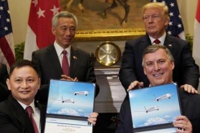 Boeing sepakati kontrak 13,8 miliar dolar AS dengan Singapore Airlines