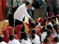 Kunjungan Presiden Ke Pengungsi Gunung Sinabung