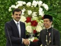 Presiden Menerima Kunjungan Emir Qatar