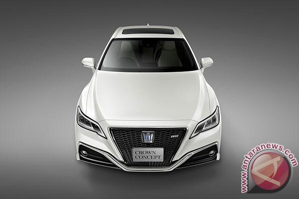 Ini Toyota Crown yang dirancang ulang dari nol