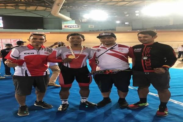 Terry Yudha rebut emas kedua Kejuaraan Asia