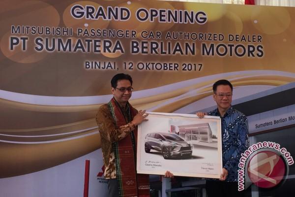 Mitsubishi resmikan diler kendaraan penumpang di Binjai