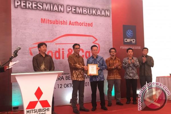 Mitsubishi resmikan fasilitas perbaikan dan pengecatan di Medan