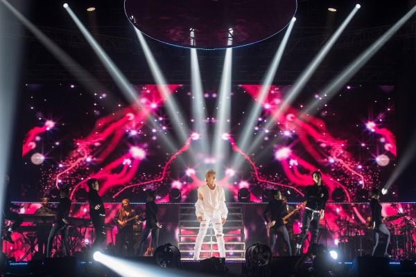 Taeyang buka konser