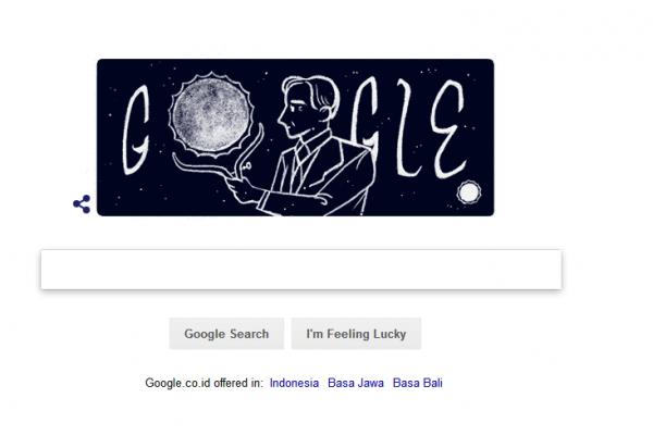 Siapakah Subrahmanyan Chandrasekhar pada Google Doodle hari ini?
