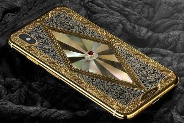 IPhone X Bertabur Berlian Dan Berlapis Emas Ini Dijual Puluhan Juta